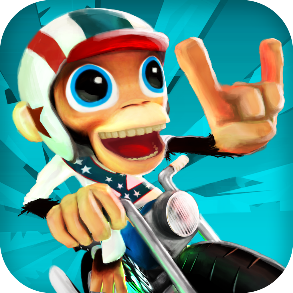 Nitro Chimp by Chillingo Ltd icon